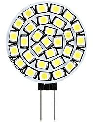 abordables -SENCART 1pc 3 W 180 lm G4 LED à Double Broches T 30 Perles LED SMD 2835 Décorative Blanc Chaud / Blanc 12 V