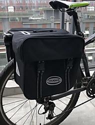 baratos -40 L Mala para Bagageiro de Bicicleta / Alforje para Bicicleta Prova-de-Água, Á Prova-de-Chuva, Vestível Bolsa de Bicicleta 600D de poliéster Bolsa de Bicicleta Bolsa de Ciclismo Ciclismo Moto