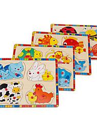 Недорогие -Устройства для снятия стресса Животные Cool утонченный деревянный 1 pcs Детские Все Игрушки Подарок