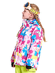 abordables -Wild Snow Garçon / Fille Veste de Ski Pare-vent, Chaud, Ventilation Ski / Multisport / Sports de neige Polyester, Maille doudoune / Anorak en Duvet Tenue de Ski