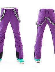 Недорогие -ARCTIC QUEEN Жен. Лыжные брюки С защитой от ветра, Дожденепроницаемый, Теплый Катание на лыжах / Отдых и Туризм / Сноубординг Полиэфир, Экологичность Полиэстер Брюки / Тёплые брюки / Снегурочка