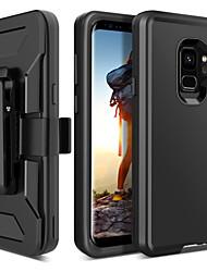 Недорогие -BENTOBEN Кейс для Назначение SSamsung Galaxy S9 Защита от удара / Матовое / Wireless Charging Receiver Case Чехол Однотонный Твердый ТПУ / ПК для S9