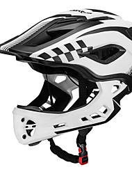 Недорогие -ROCKBROS Детские Мотоциклетный шлем BMX Шлем 12 Вентиляционные клапаны Легкий вес Сетка от насекомых Формованный с цельной оболочкой ESP+PC Виды спорта