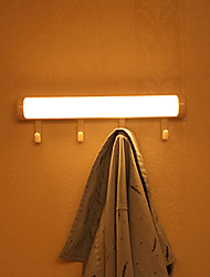 Недорогие -HKV 1шт LED Night Light Тёплый белый / Холодный белый Аккумуляторы AAA Датчик человеческого тела / чулан / Гардероб 5 V