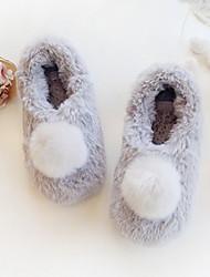 Недорогие -Женские тапочки Домашние тапки На каждый день Хлопок Анималистический принт Обувь
