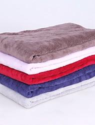 billige -Hold Varm / Blød / Foldning Hunde tøj Senge / Håndklæder Ensfarvet Tilfældig Farve Hunde / Små pelsdyr