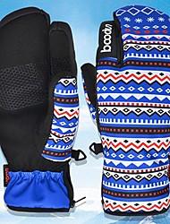 Недорогие -Зимние / Лыжные перчатки Жен. Полный палец С защитой от ветра / Водонепроницаемость / Сохраняет тепло Полиэфирная тафта Катание на лыжах / Снежные виды спорта / Сноубординг Осень / Зима