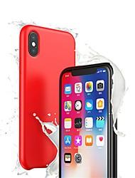 billiga -fodral Till Apple iPhone XR / iPhone XS Max Ultratunt Skal Enfärgad Mjukt Silikon för iPhone XS / iPhone XR / iPhone XS Max