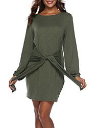お買い得  -女性は肩から膝の上のラインのドレス