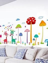 abordables -Autocollants muraux décoratifs - Autocollants muraux 3D / Autocollants muraux animaux Animaux Salle de séjour / Chambre à coucher / Salle de bain