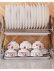 Недорогие -Кухонная организация Столовые приборы Металл Аксессуар для хранения 1шт