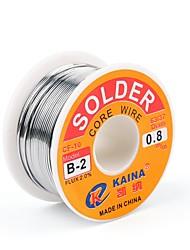 baratos -Alta qualidade 63/37 rosin núcleo de fluxo de fio de solda 2% de estanho chumbo solda de ferro carretel de arame de solda 0.5mm 100g b-2