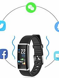 baratos -KUPENG R9 Pulseira inteligente Android iOS Bluetooth Esportivo Impermeável Monitor de Batimento Cardíaco Medição de Pressão Sanguínea Tela de toque Podômetro Aviso de Chamada Monitor de Atividade