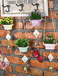 billige -Kunstige blomster 1 Afdeling Mønster / Klassisk / Enkel Stilfuld / Moderne Planter / Vase Bordblomst