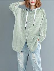 abordables -Tee-shirt femme en vrac - bloc de couleur à capuche