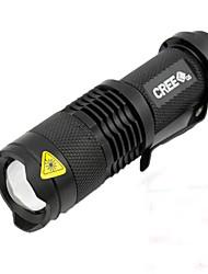 Недорогие -Светодиодная лампа Велосипедные фары Передняя фара для велосипеда LED Велоспорт Велоспорт Водонепроницаемый Портативные LED Легкость AA / 14500 450 lm AA Белый / IPX-5