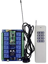 Недорогие -12-48v беспроводной модуль удаленного питания с двойным пультом дистанционного управления / сельскохозяйственной безопасности промышленного контроля