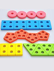 Недорогие -Взаимосоединяющиеся блоки Геометрический узор Cool утонченный 1 pcs Куски Детские Все Игрушки Подарок