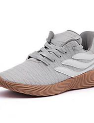 abordables -Homme Chaussures de confort Tricot Automne Sportif / Décontracté Chaussures d'Athlétisme Course à Pied Blanc / Noir / Gris