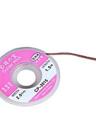 billiga -1pc bga avlödning flädeslödtråd wick / soldering tillbehör löddämpare elverktyg tillbehör försörjning