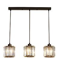 billiga -3-Light Klunga Hängande lampor Kristall 110-120V / 220-240V / FCC
