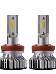 Недорогие -1 комплект 45w 4500lm h8 h9 h10 h11 9005 9012 светодиодный фонарик