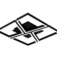 baratos -Novidades Apliques de Tecto Luz Ambiente Acabamentos Pintados Metal Multi-Tonalidades, Proteção para os Olhos, Ajustável 110-120V / 220-240V Branco / Dimmable Com Controle Remoto / Branco quente