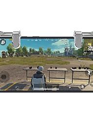 Недорогие -Беспроводное Игровые контроллеры Назначение Android / iOS ,  Портативные / Cool Игровые контроллеры ABS 2 pcs Ед. изм