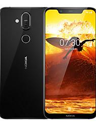 """Недорогие -NOKIA X7 6.18 дюймовый """" 4G смартфоны (4GB + 64Гб 12 mp / 13 mp Snapdragon 710 AIE 3500 mAh mAh) /  двойной фотоаппарат"""