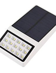 Недорогие -1шт 3 W Светодиодный уличный фонарь / Солнечный свет стены Дистанционно управляемый / Работает от солнечной энергии / Управление освещением Белый 3.7 V Уличное освещение 15 Светодиодные бусины