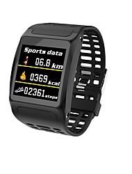 Недорогие -Indear Z01 Умный браслет Android iOS Bluetooth Спорт Водонепроницаемый Пульсомер Измерение кровяного давления / Сенсорный экран / Израсходовано калорий / Длительное время ожидания / Педометр