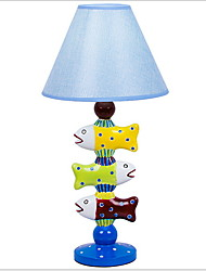 Недорогие -Художественный Декоративная Настольная лампа Назначение Девочки / Детская Смола 220 Вольт
