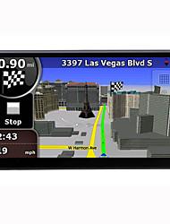 abordables -7 pouces 2 Din 800 x 480 Android 4.4 Lecteur DVD de voiture pour Universel Bluetooth Intégré GPS RDS Contrôle Au Volant WiFi Jeux Ecran