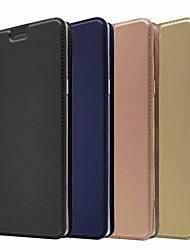 Недорогие -Кейс для Назначение SSamsung Galaxy Note 9 / Note 8 Бумажник для карт / со стендом / Магнитный Чехол Однотонный Твердый Кожа PU для Note 9 / Note 8