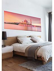 abordables -Autocollants muraux décoratifs - Autocollants muraux 3D Paysage / Religieux Chambre à coucher / Chambre des enfants