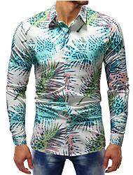billige -Herre - Grafisk Gade Skjorte