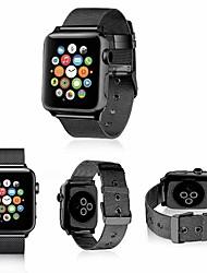 Недорогие -Нержавеющая сталь Ремешок для часов Ремень для Apple Watch Series 4/3/2/1 Черный / Серебристый металл / Красный 23см / 9 дюйма 2.1cm / 0.83 дюймы