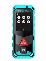 お買い得  -MILESEEY T7 100M レーザー距離計 防水 / 多機能 / 耐埃 エンジニアリング測定用 / 建築用 / 屋外測定用