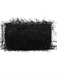 baratos -Mulheres Bolsas Pele Falsa / Liga Bolsa de Ombro Penas / Pêlo Côr Sólida Rosa / Cinzento / Khaki