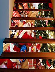 Недорогие -Декоративные наклейки на стены - Праздник стены стикеры Рождество На открытом воздухе / Офис