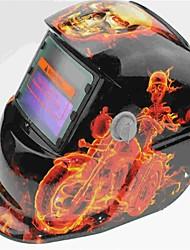 Недорогие -Солнечная автоматическая фотоэлектрическая сварочная маска 107 мотоциклов Шаньтоу