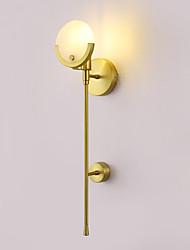 baratos -Criativo Moderno / Contemporâneo Luminárias de parede Quarto / Quarto de Estudo / Escritório Metal Luz de parede IP44 110-120V / 220-240V 40 W