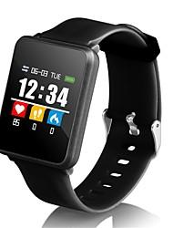 baratos -Indear F21 Pulseira inteligente Android iOS Bluetooth Esportivo Impermeável Monitor de Batimento Cardíaco Tela de toque Calorias Queimadas Podômetro Aviso de Chamada Monitor de Atividade Monitor de