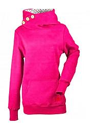 رخيصةأون -المرأة بالاضافة الى حجم طويلة الأكمام هوديي - بلون مقنعين