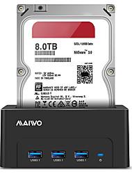 Недорогие -MAIWO Корпус жесткого диска ABS смолы USB 3.0 K308H