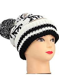 Χαμηλού Κόστους -γυναικεία δισκοειδής καπέλο από πολυεστέρα - μπλοκ χρώματος