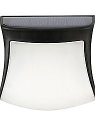 Недорогие -1шт 0.5 W Свет газонные / Светодиодный уличный фонарь / Солнечный свет стены Работает от солнечной энергии / Декоративная / Управление освещением Тёплый белый / Естественный белый / Белый 1.2 V