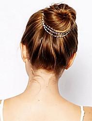 Недорогие -Зажим для волос Экологичный материал Клипсы Декорации / Клипсы Легко для того чтобы снести / Лучшее качество 1 pcs Повседневные Мода