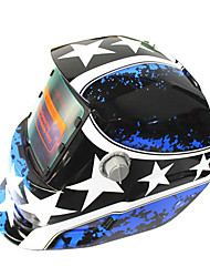 Недорогие -солнечный авто потемнение сварочный шлем 107 звезд