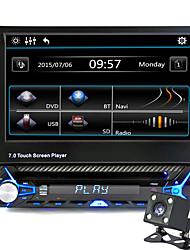 abordables -7 pouce 1 Din Autre Haute Définition / Bluetooth Intégré / Contrôle du Volume pour Universel Soutien / Stockage de Mémoire / Interface 3D / Son / Multifonction / Support SD / USB